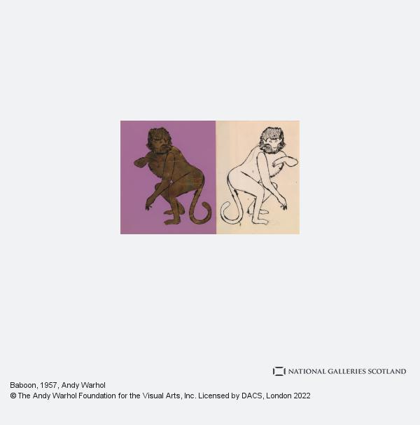 Andy Warhol, Baboon (1957)