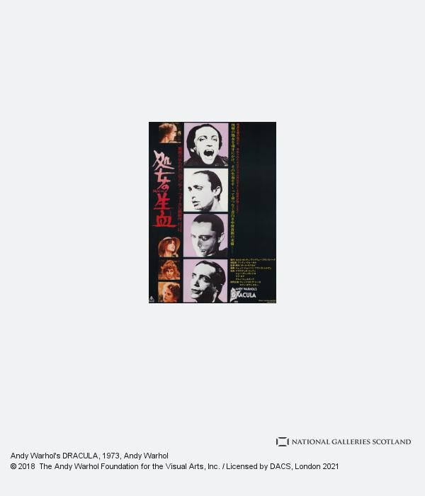 Andy Warhol, Andy Warhol's DRACULA (1973)