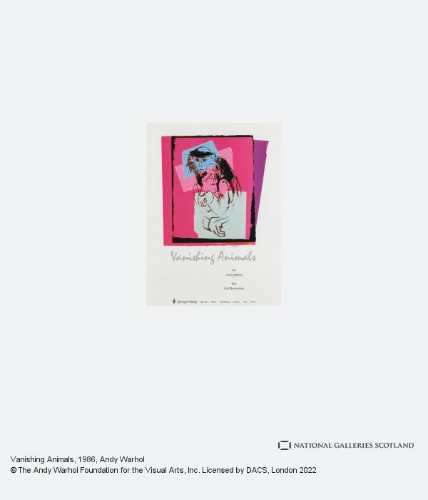 Andy Warhol, Vanishing Animals (1986)