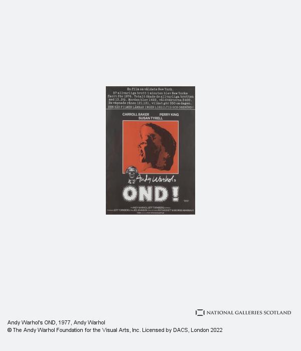 Andy Warhol, Andy Warhol's OND (1977)