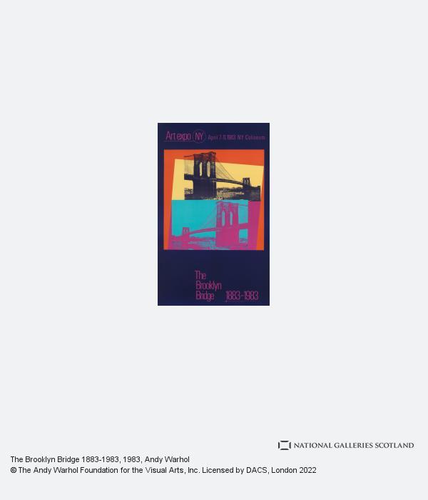 Andy Warhol, The Brooklyn Bridge 1883-1983 (1983)