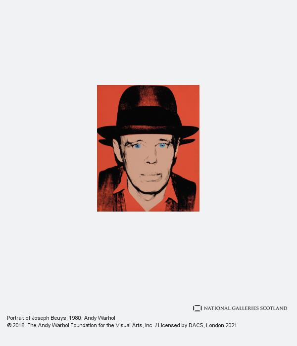 Andy Warhol, Portrait of Joseph Beuys
