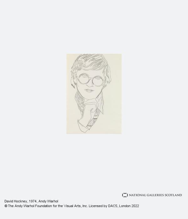 Andy Warhol, David Hockney (1974)