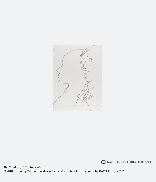 Andy Warhol, The Shadow (1981)