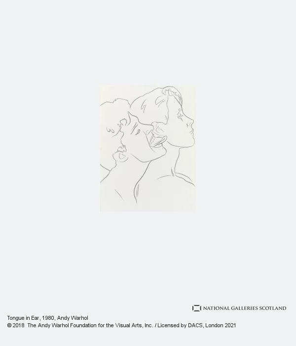 Andy Warhol, Tongue in Ear (1980)
