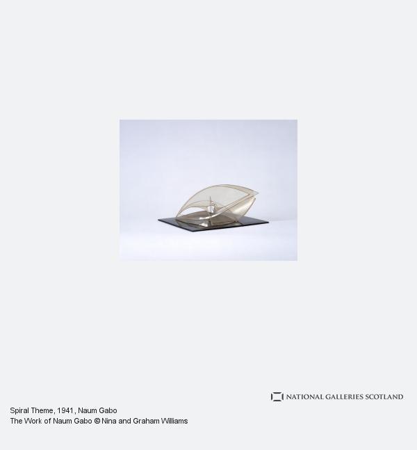 Naum Gabo, Spiral Theme
