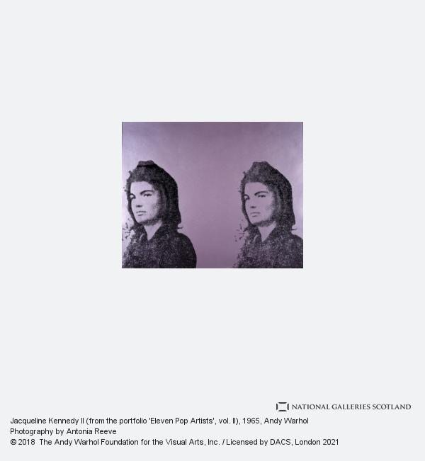 Andy Warhol, Jacqueline Kennedy II (from the portfolio 'Eleven Pop Artists', vol. II)