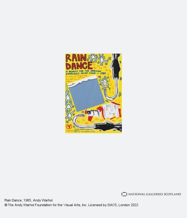 Andy Warhol, Rain Dance (1985)