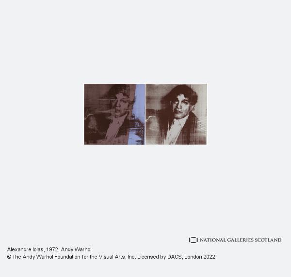 Andy Warhol, Alexandre Iolas (1972)