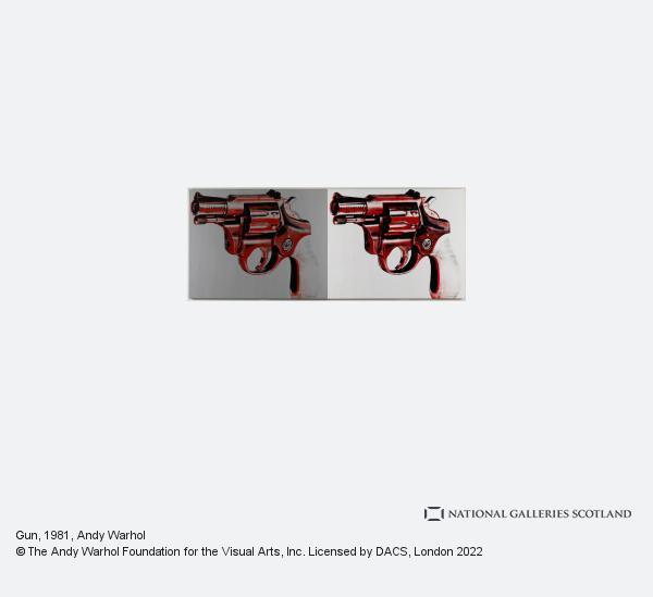 Andy Warhol, Gun (1981)