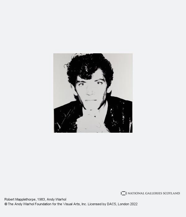 Andy Warhol, Robert Mapplethorpe (1983)