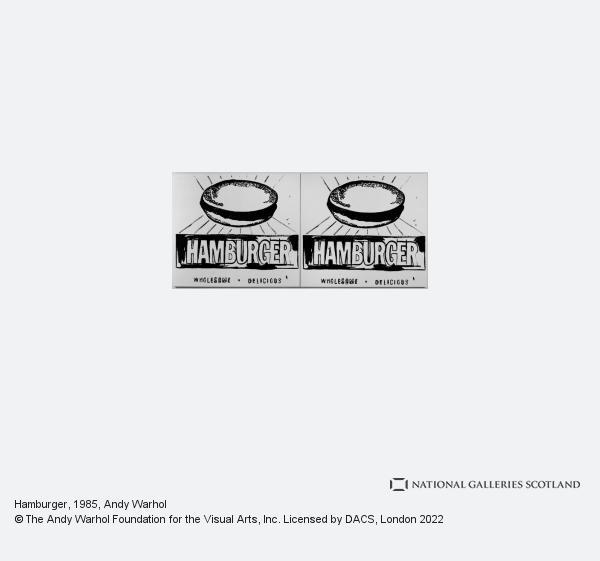 Andy Warhol, Hamburger