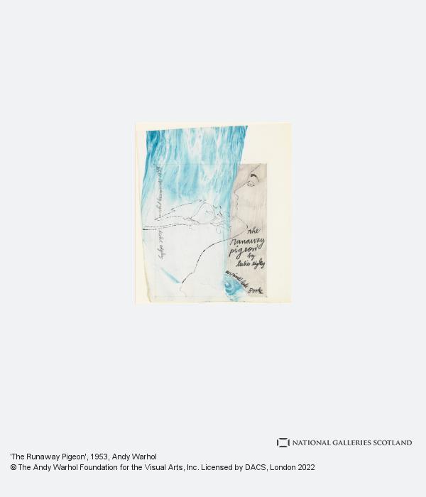 Andy Warhol, 'The Runaway Pigeon' (1953)
