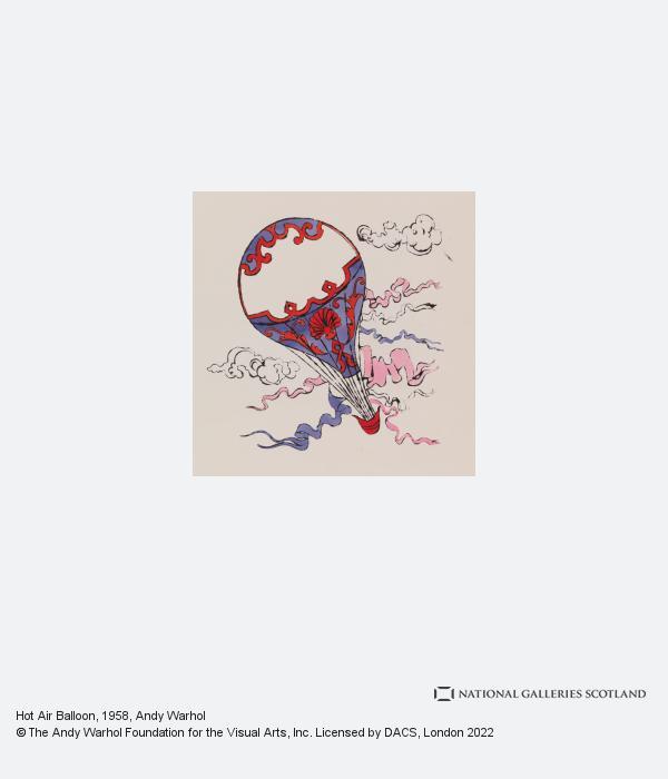 Andy Warhol, Hot Air Balloon (1958)