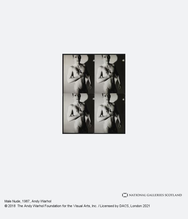 Andy Warhol, Male Nude (1987)