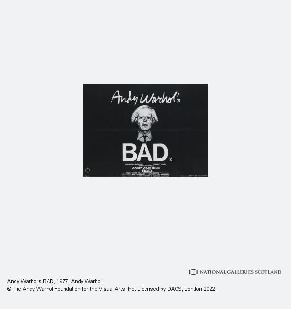Andy Warhol, Andy Warhol's BAD (1977)