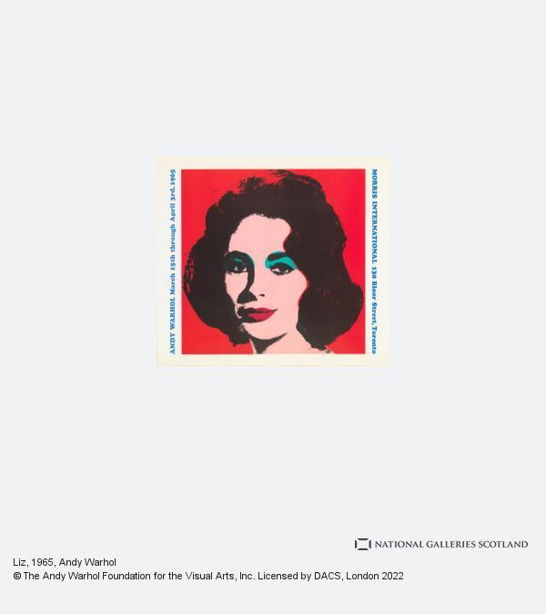 Andy Warhol, Liz (1965)