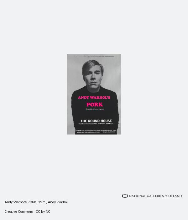 Andy Warhol, Andy Warhol's PORK (1971)