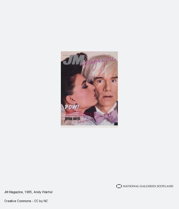 Andy Warhol, JM Magazine (About 1985)
