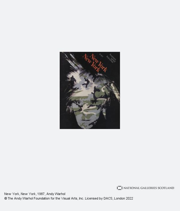 Andy Warhol, New York, New York (1987)
