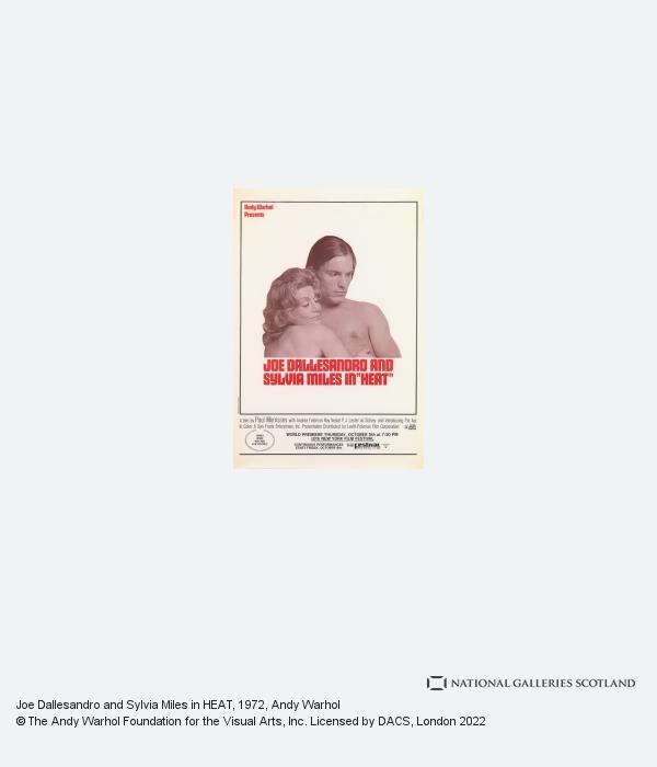 Andy Warhol, Joe Dallesandro and Sylvia Miles in HEAT (1972)