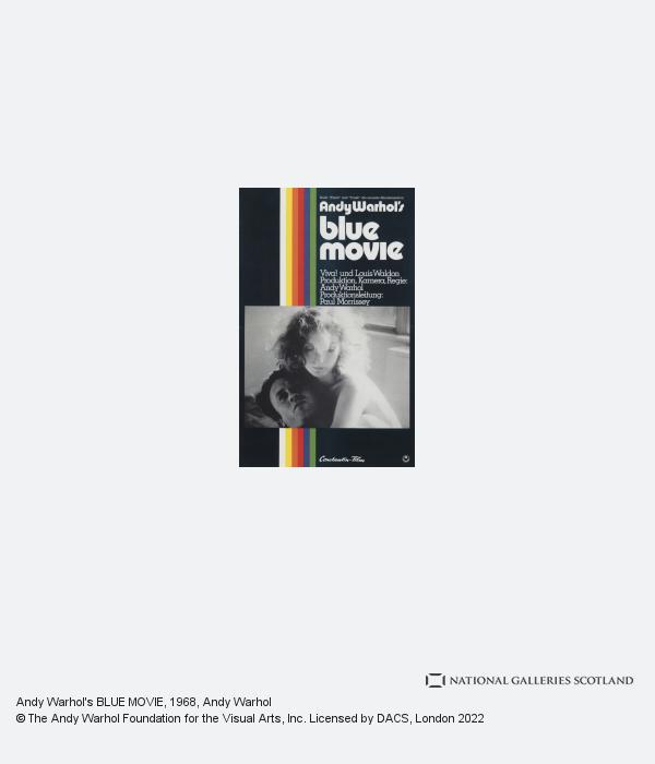 Andy Warhol, Andy Warhol's BLUE MOVIE