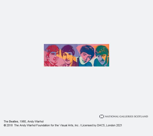 Andy Warhol, The Beatles (1980)