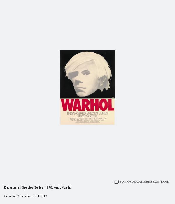 Andy Warhol, Endangered Species Series (1978)