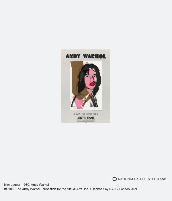Andy Warhol, Mick Jagger (1980)
