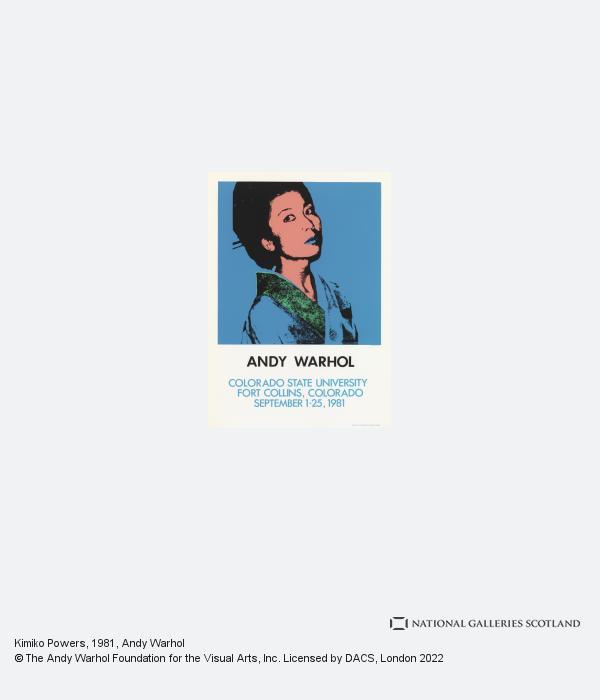 Andy Warhol, Kimiko Powers (1981)