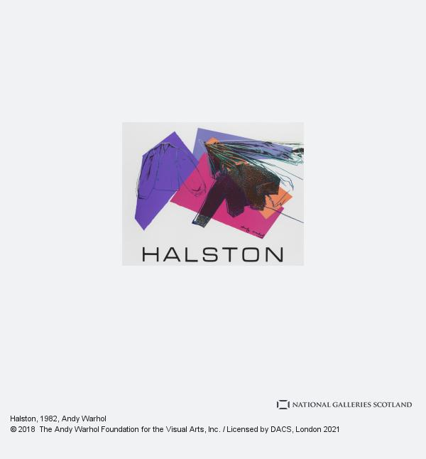 Andy Warhol, Halston (1982)
