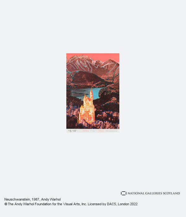 Andy Warhol, Neuschwanstein (1987)