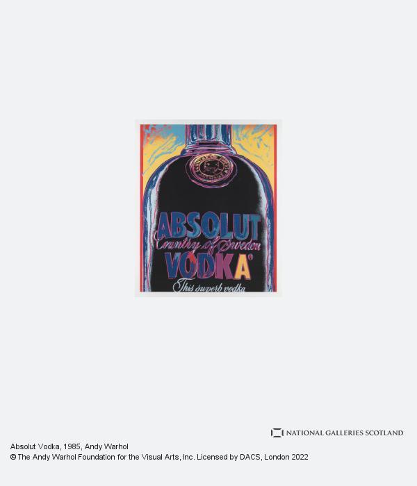 Andy Warhol, Absolut Vodka (1985)