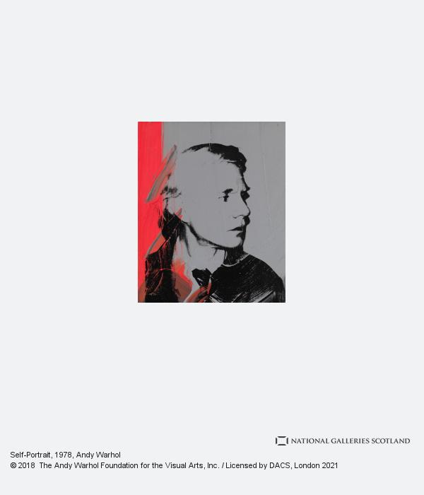 Andy Warhol, Self-Portrait (1978)