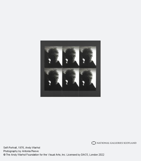 Andy Warhol, Self-Portrait (1976 - 1986)