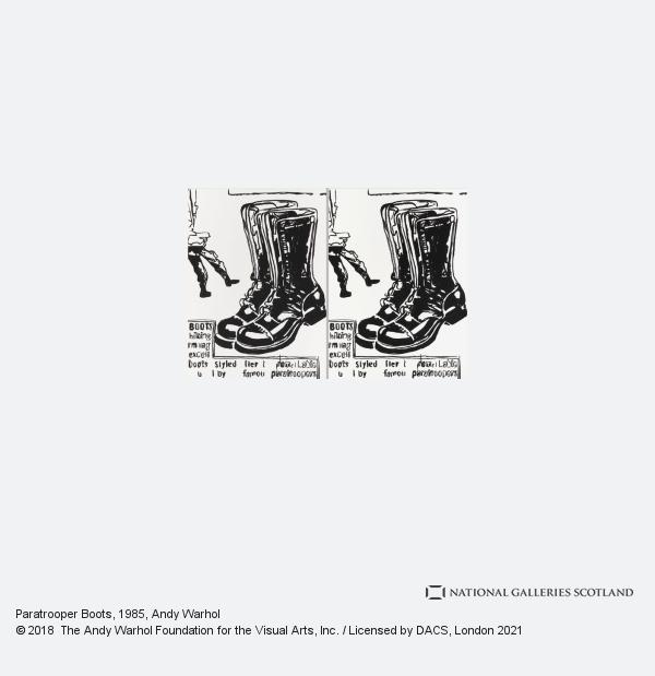 Andy Warhol, Paratrooper Boots (1985 - 1986)