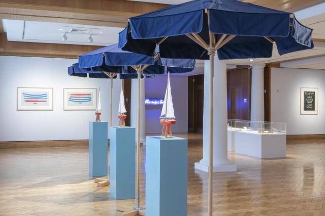 Virtual Spin: Discussion of Marine | Ian Hamilton Finlay exhibition