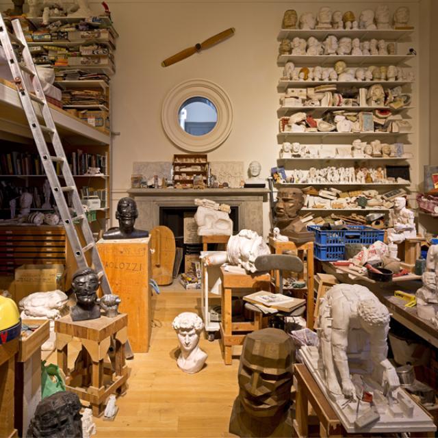 Paolozzi's Studio visit