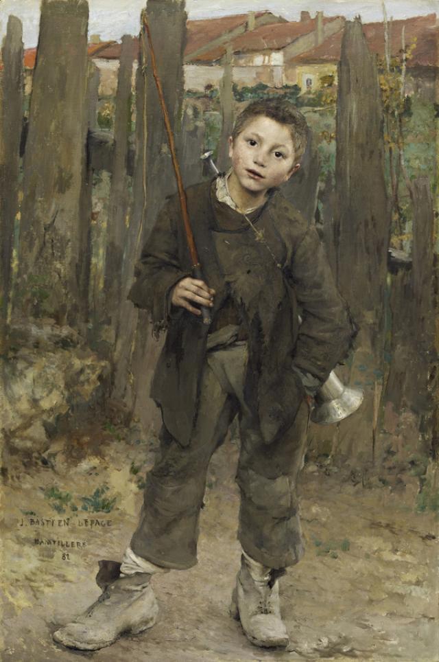 Jules Bastien-Lepage - Realist Paintings - Realism
