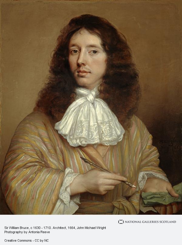 John Michael Wright, Sir William Bruce, c 1630 - 1710. Architect (About 1664)