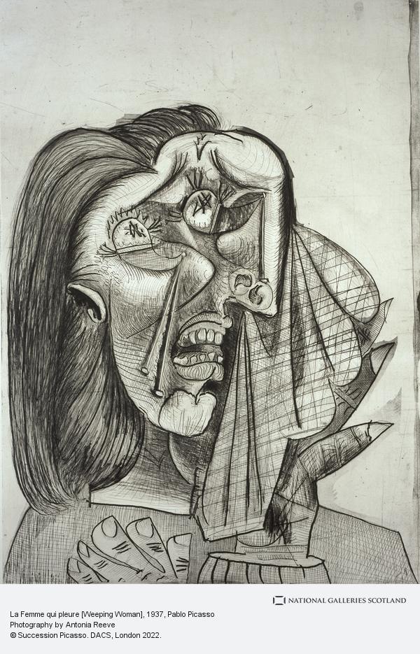 Pablo Picasso, La Femme qui pleure [Weeping Woman]