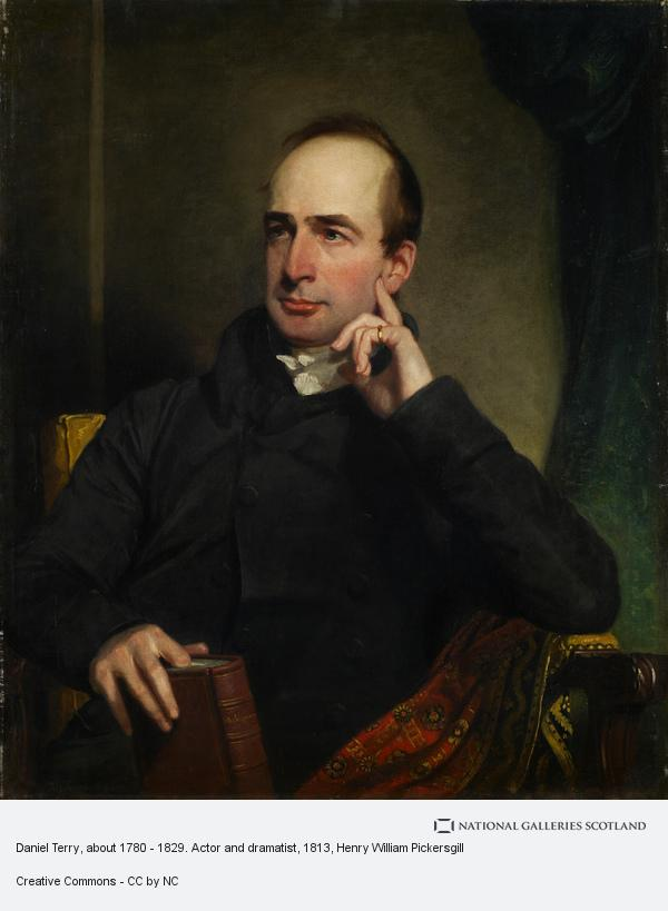 Henry William Pickersgill, Daniel Terry, about 1780 - 1829. Actor and dramatist