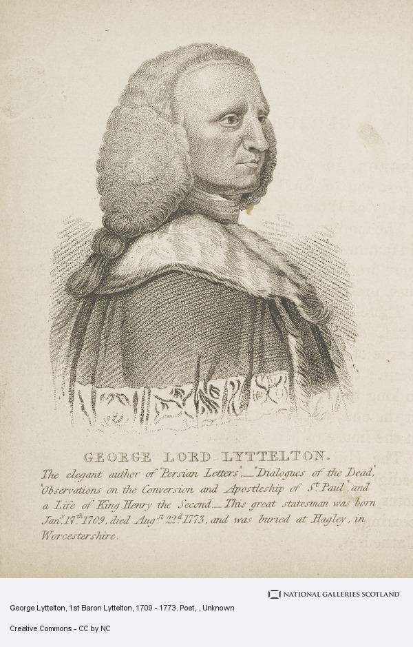 George Lyttelton and gilbert west