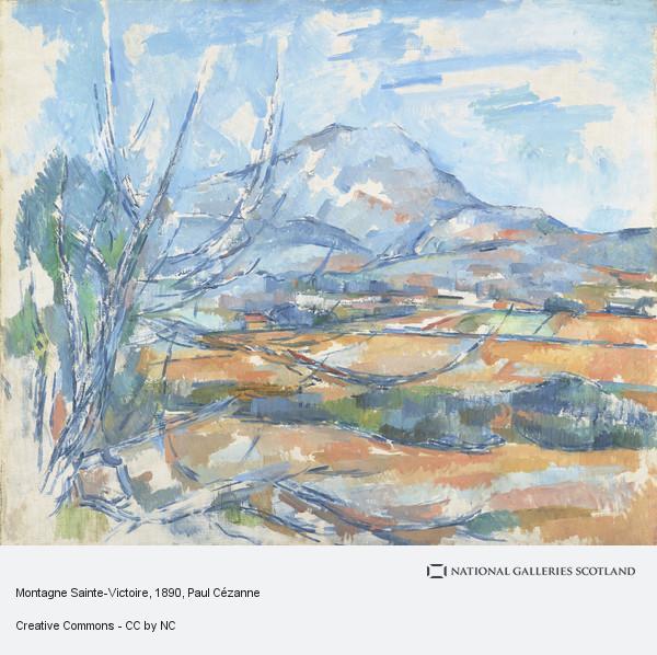 Paul Cezanne, Montagne Sainte-Victoire (1890 - 1895)