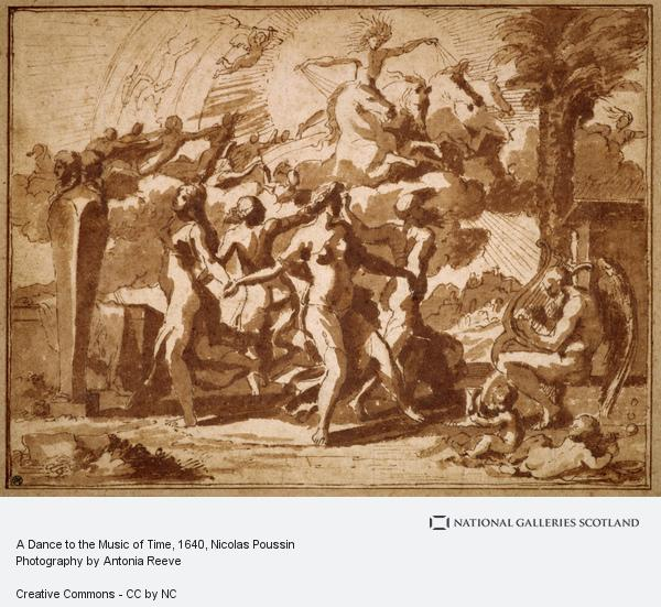 Nicolas Poussin, A Dance to the Music of Time (About 1640)