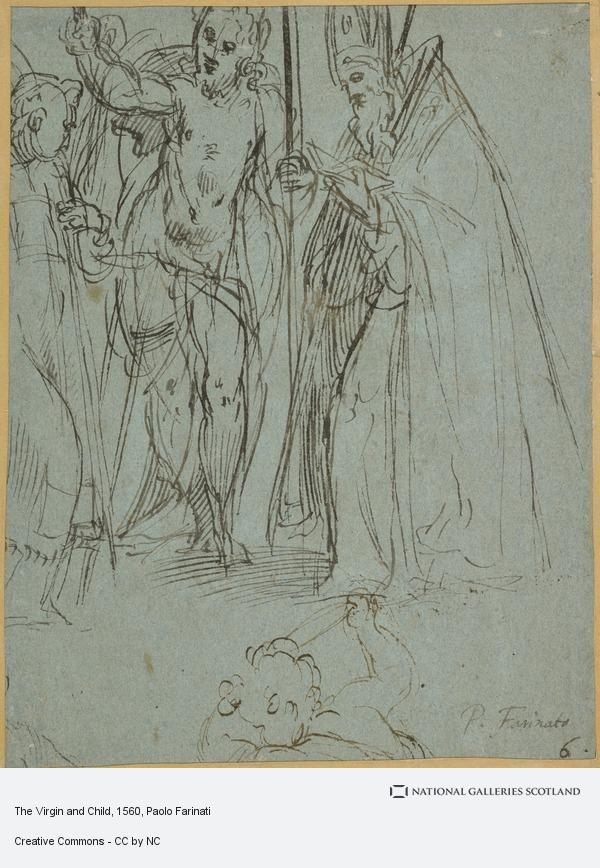 Paolo Farinati, The Virgin and Child (1560 - 1580)