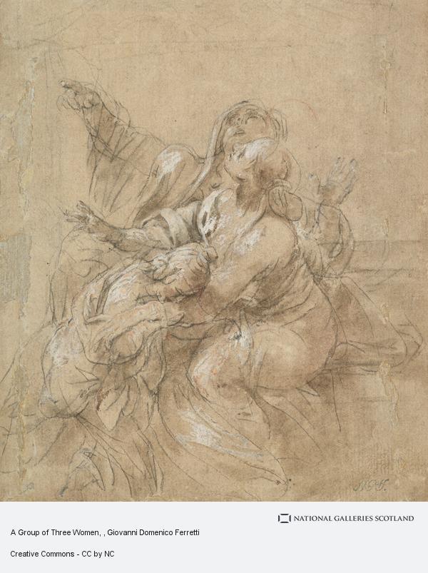 Giovanni Domenico Ferretti, A Group of Three Women