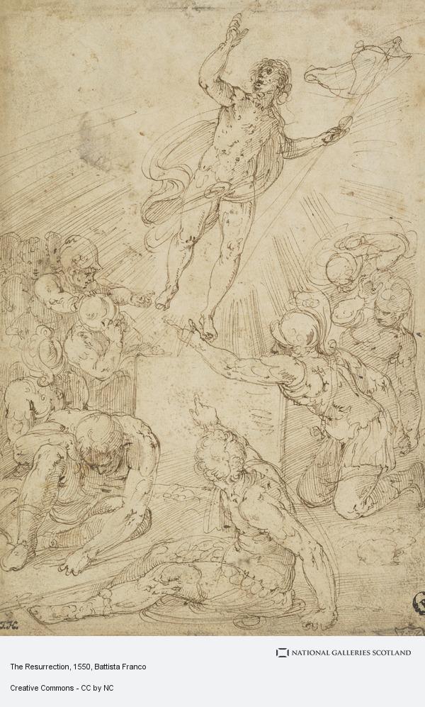 Battista Franco, The Resurrection (after 1550)