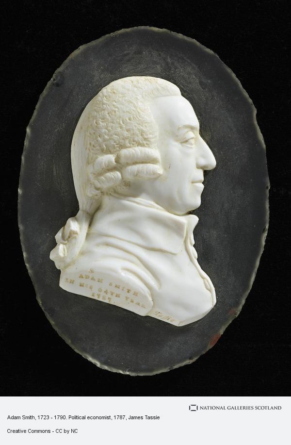 James Tassie, Adam Smith, 1723 - 1790. Political economist (1787)