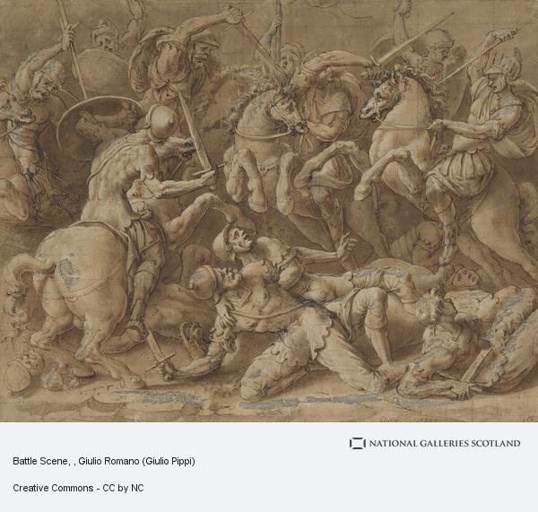 Giulio Romano, Battle Scene